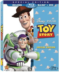 Toy Story Blu-ray packaging