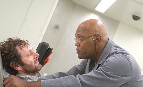 Michael Sheen and Samuel L. Jackson in Unthinkable