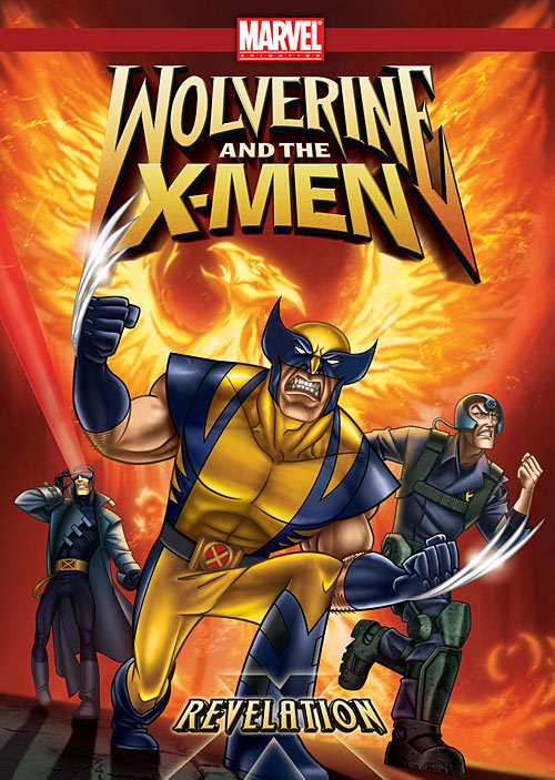Wolverine and the X-Men: Revelation DVD packaging