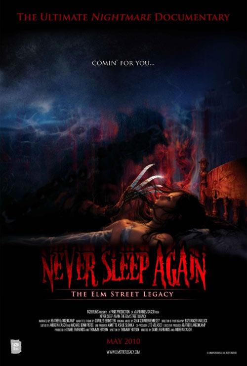 Never Sleep Again: The Elm Street Legacy DVD box art