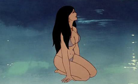 Teegra from the Ralph Bakshi film Fire and Ice