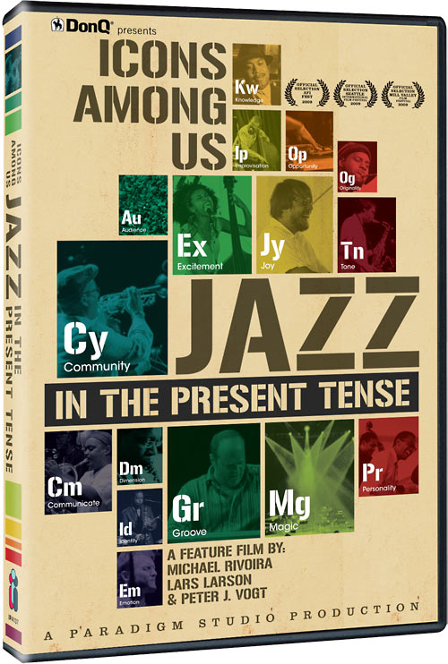 Icons Among Us: Jazz In The Present Tense DVD packaging