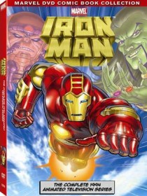 Iron Man The Complete Animated Series DVD packaging