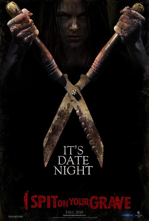 I Spit on Your Grave teaser poster