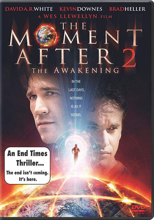 The Moment After 2: The Awakening DVD packaging