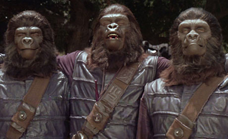 Scene from the 1968 Franklin J. Schaffner original Planet of the Apes