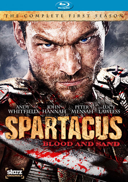 Spartacus: Blood and Sand - The Complete First Season Blu-ray packaging