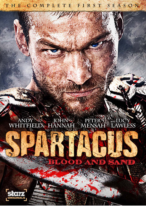 Spartacus: Blood and Sand - The Complete First Season DVD packaging