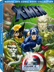 X-Men Animated Series: Volume 5 DVD packaging