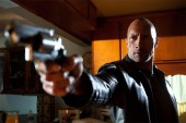 """Dwayne Johnson stars as """"Driver"""" in Faster. © CBS Films, Inc. All Rights Reserved."""