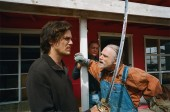 Brad McCullum (Michael Shannon) and Uncle Ted (Brad Dourif) in MY SON, MY SON, WHAT HAVE YE DONE Photo Credit: Lena Herzog. Courtesy of Absurda