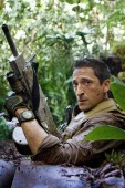 Academy Award winner Adrien Brody portrays Royce, a mercenary whose skills are put to the ultimate test when he faces alien Predators. Photo: Rico Torres