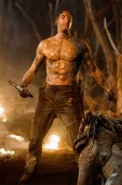 Battle-hardened mercenary Royce (Adrien Brody) squares off against his deadliest enemy ever - an alien Predator. Photo: Rico Torres
