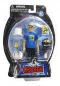 Seth Green and Matt Senreich signing Robot Chicken Comic-Con exclusive figure