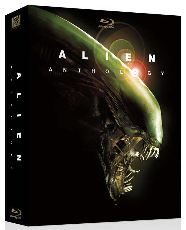 Alien Anthology Blu-ray packaging