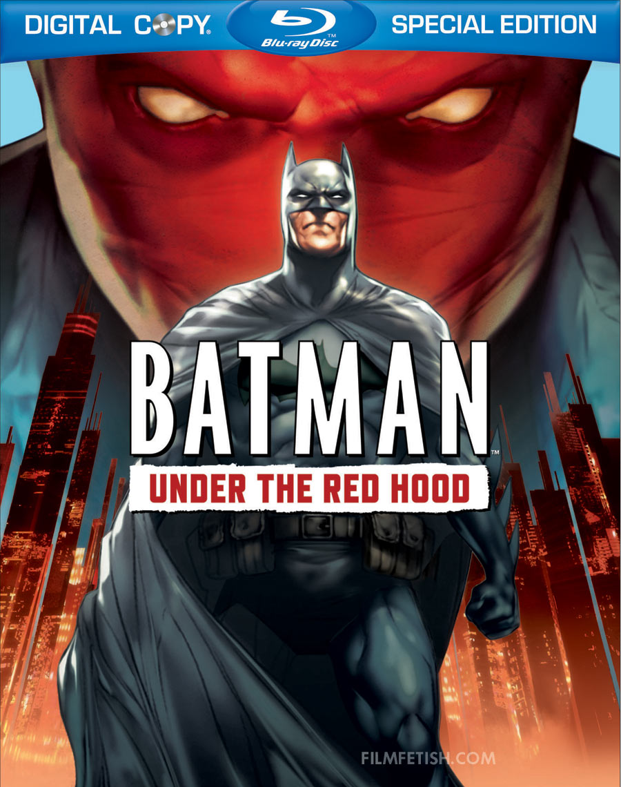 Batman: Under the Red Hood Blu-ray packaging