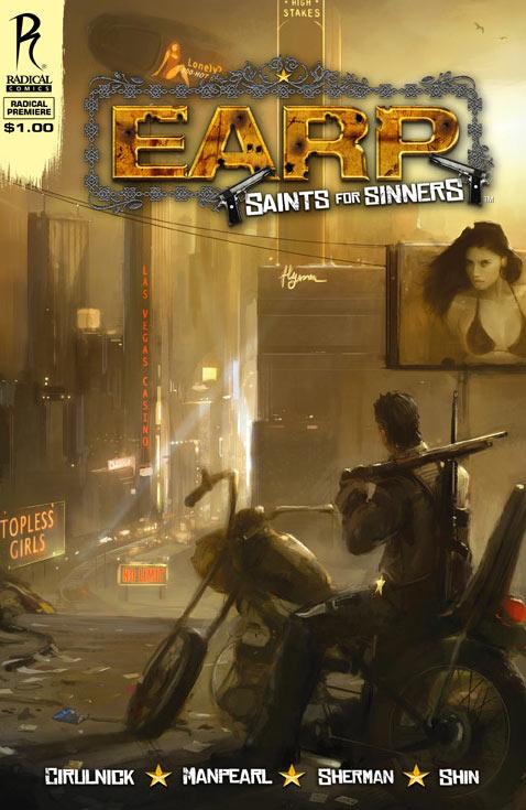 Earp: Saints for Sinners cover