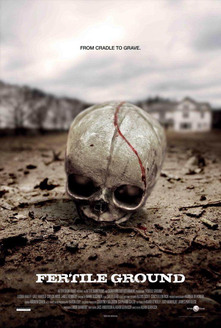 After Dark Films Originals' Fertile Ground movie poster
