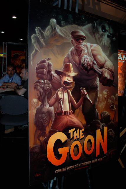The Goon San Diego Comic-Con 2008 movie poster