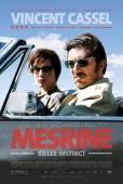 Mesrine: Killer Instinct U.S. release poster