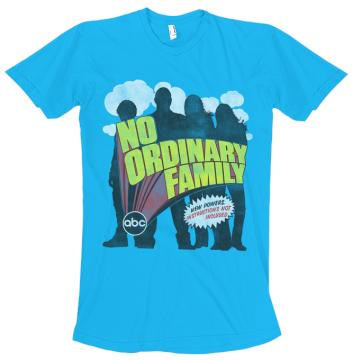 No Ordinary Family Exclusive Comic-Con T-Shirt