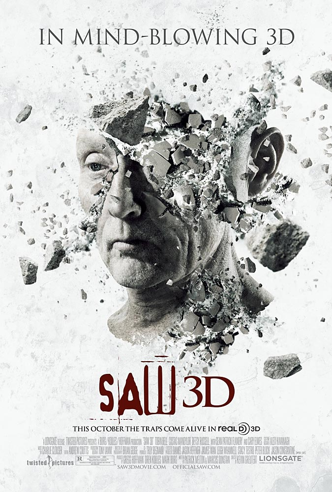 Saw 3D motion poster