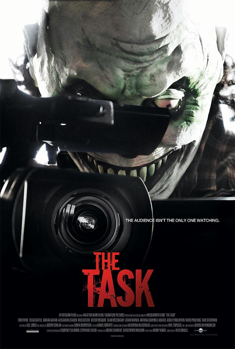 After Dark Films Originals' The Task movie poster