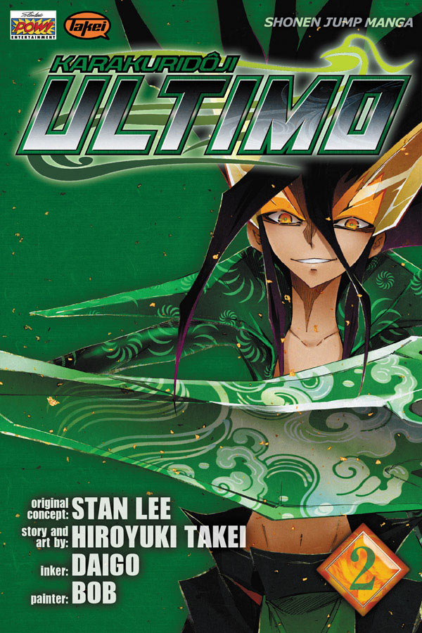 Ultimo Volume 2 cover