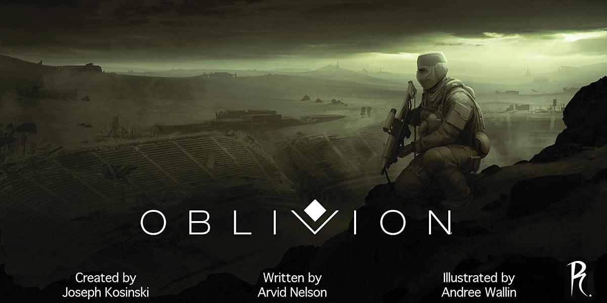 Oblivion Preview Cover