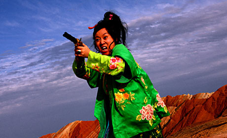 Scene from A Woman A Gun and a Noodle Shop