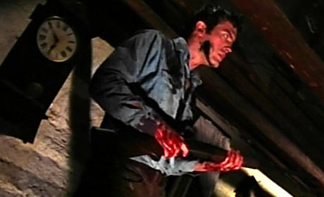Bruce Campbell in Evil Dead