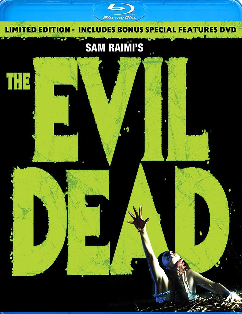 The Evil Dead Blu-ray cover art