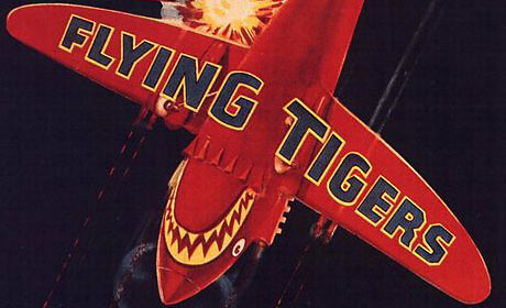 Flying Tigers (1942) movie poster detail