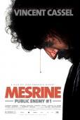 Mesrine: Public Enemy No. 1 U.S. release poster