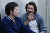 Mathieu Amalric and Vincent Cassel in Mesrine: Public Enemy No. 1