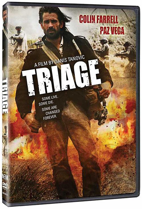 Triage DVD packaging
