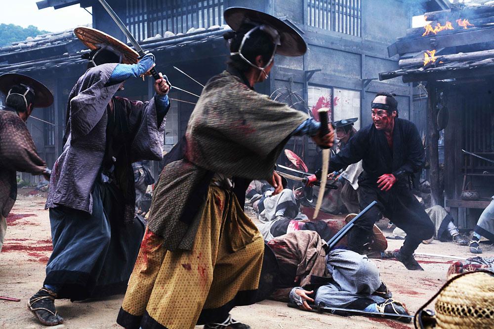 Scene from 13 Assassins
