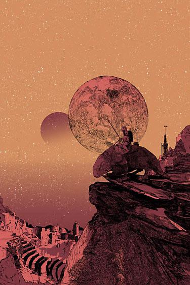 Dawn of Tatooine by Shan Jiang