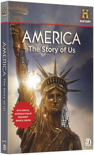 America the Story of Us DVD set packaging