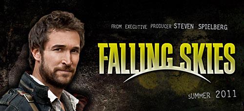Noah Wyle in Falling Skies