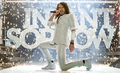 Russell Brand plays rocker Aldous Snow in Get Him to the Greek