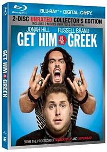 Get Him to the Greek Blu-ray packaging