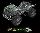 Weta Workshop crafting custom HALO: Reach ATV collectibles for giveaway promotion