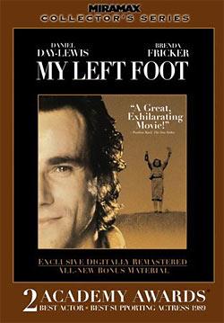 My Left Foot DVD packaging
