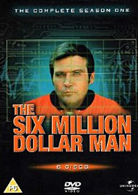 The Six Million Dollar Man DVD packaging