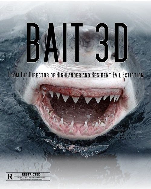 Bait 3D movie poster