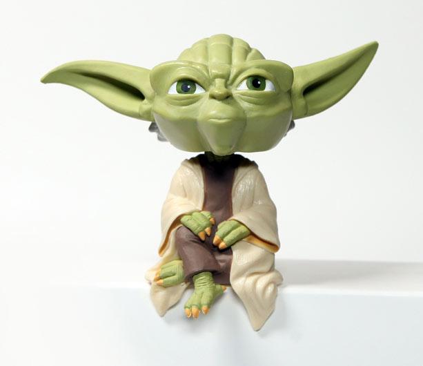 Star Wars: Clone Wars Adventures Yoda bobblehead