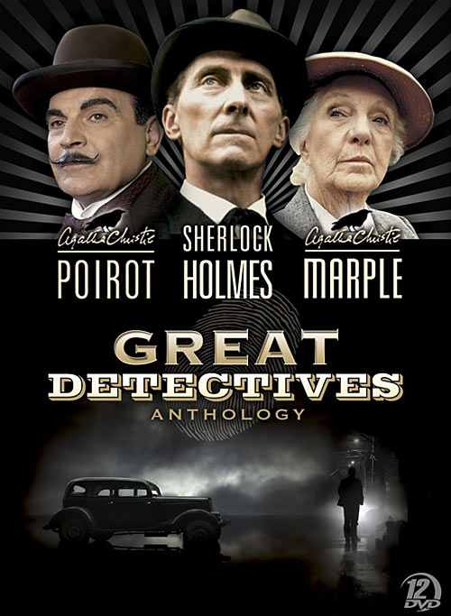 Great Detectives Anthology DVD packaging