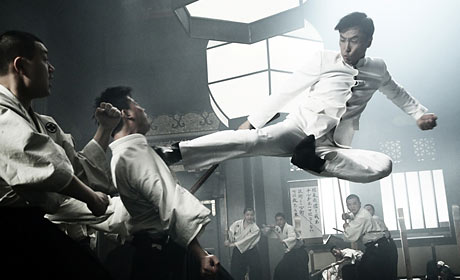 Donnie Yen in Legend of the Fist: The Return of Chen Zhen