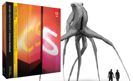 Wired Monsters Adobe Creative Suite 5 Contest